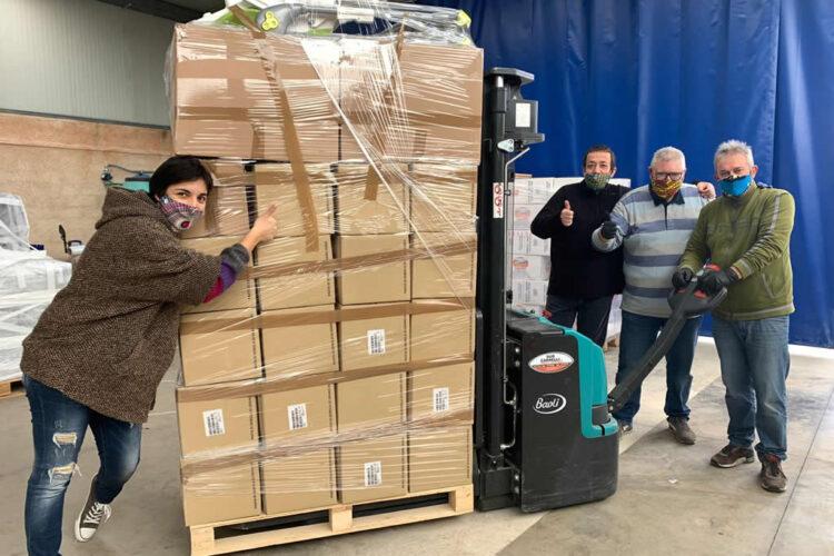 Preparazione del container